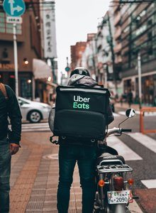 Uber Eats Delivery Driver, on his way to making a £1000